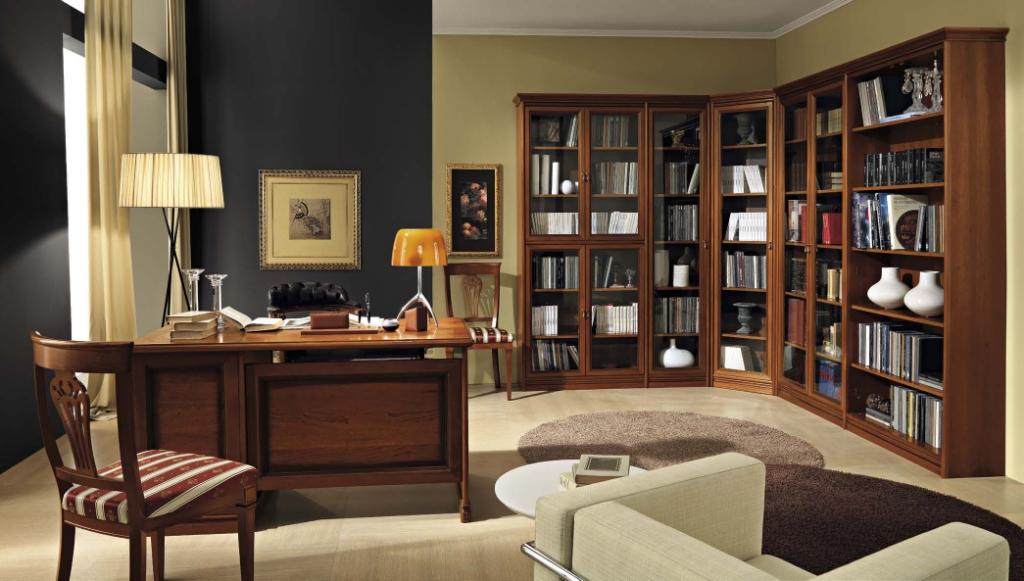 Итальянский кабинет nostalgia фабрики camelgroup - мебель дл.